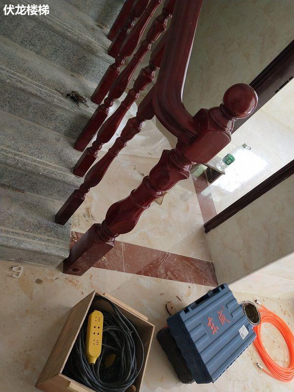 东方市实木楼梯扶手客户案例23