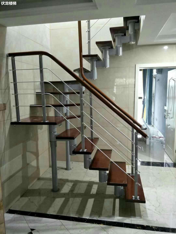 【产品15】复式楼房整体楼梯定制