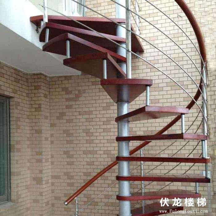 【产品5】旋转楼梯-复式阁楼楼梯