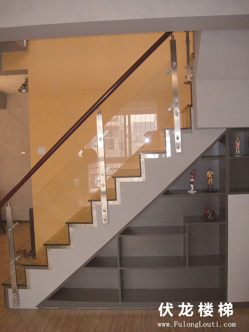 【产品12】玻璃楼梯扶手展示